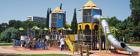 El gran parque de la «Ciudad de los niños» de Córdoba