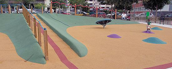 Áreas de juego accesibles e integradoras en Barcelona