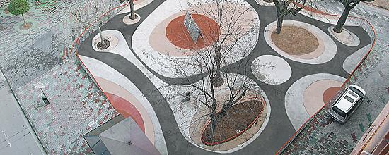 Plaza de Darío Pérez en Calatayud