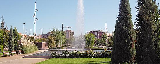 Boulevard Central del Campus Riu Sec
