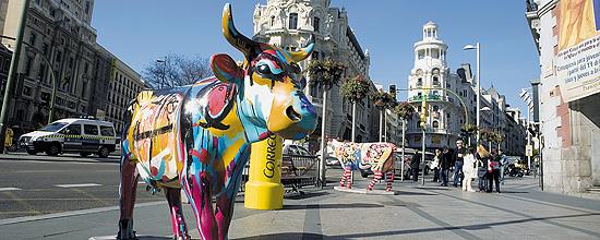 Nombre de la vaca: Berta; Artista: Berta Gonz‡lez Camplloch Patr