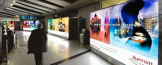 Creación Digital en los aeropuertos de París