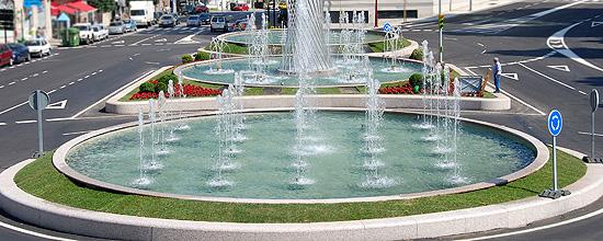 Proyecto de la Fuente para la avenida del Aeropuerto en la ciudad de Vigo