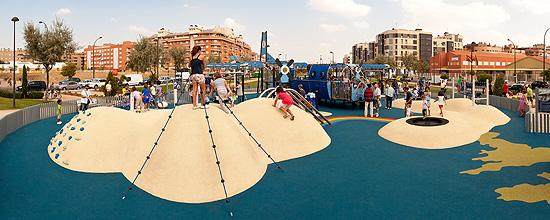 Parque Vedrines, ubicado en la localidad de Getafe