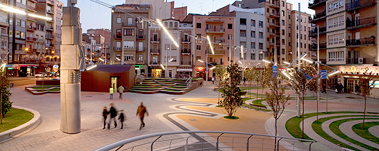 Nueva plaza Ricard Viñes, Lleida