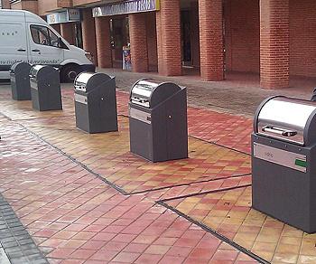 Contenedores en Colmenar Viejo