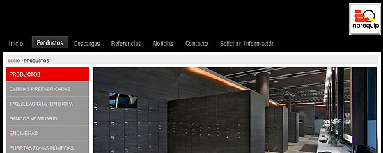 Nueva web de INAREQUIP
