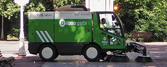 Nueva flota de limpieza y contenedores en Bilbao