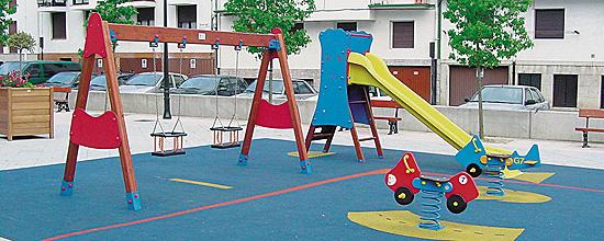 Diseño de mobiliario para la tercera edad y parques infantiles