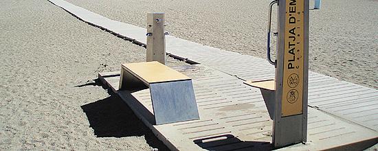 El Módulo de Servicio de Playa Adaptado PMR