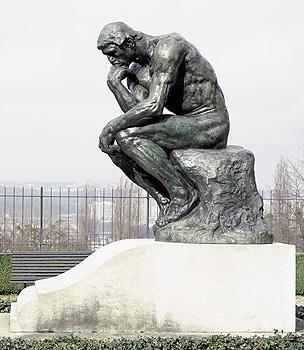El Pensador, gran modelo, 1903