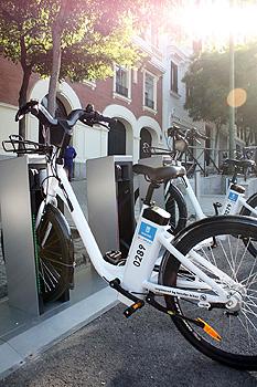BiciMAD, el servicio público de alquiler de bicicletas