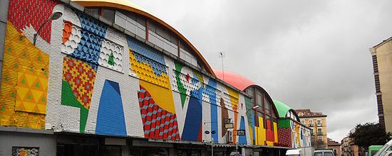 Mural Mercado de la Cebada