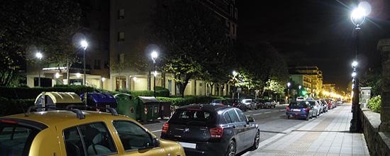 Calle Zarautz, en Guipuzcoa