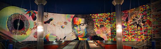 Arte Urbano en el Metro de Madrid