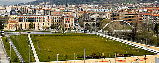 Parque de Trinitarios en Pamplona