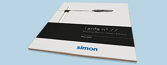 Simon Lighting lanza la nueva tarifa Outdoor con la novedad de la Luminaria vial LED NATH L y NATH S