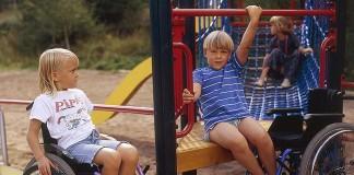Áreas de juego infantil accesibles