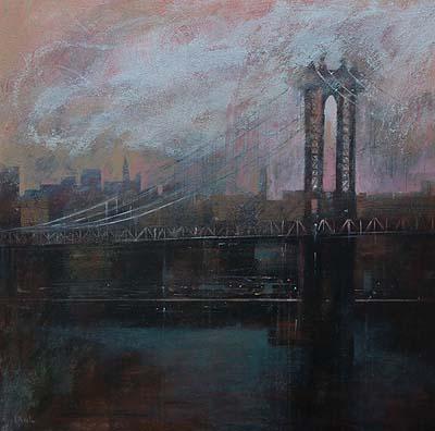 Puente de Brooklyn, 90x90