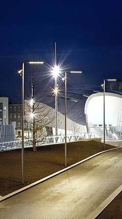 La estación más vanguardista de Holanda y su estrategia luminotécnica