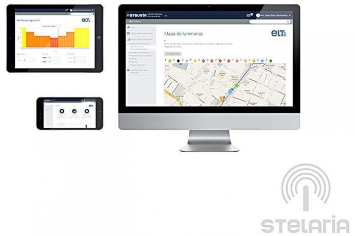 Sistema para la gestión remota e inalámbrica STELARIA