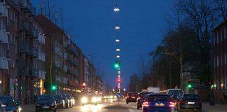Iluminación vial de Copenhague
