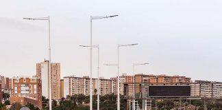 Alumbrado vial con tecnología LED en la Ronda de Dalt