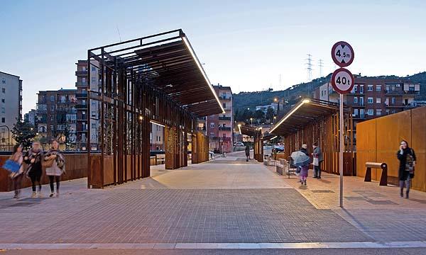 Puente de Sarajevo. Barcelona