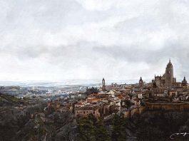 Segovia. 65x46 cm.