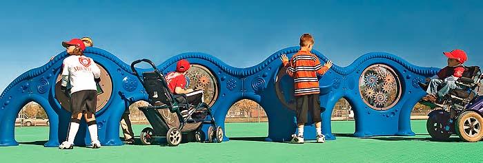 Área de juego inclusivo