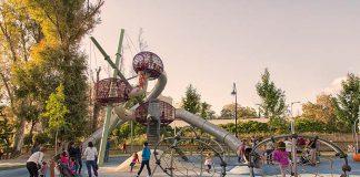 Parque de la Negrita en Antequera