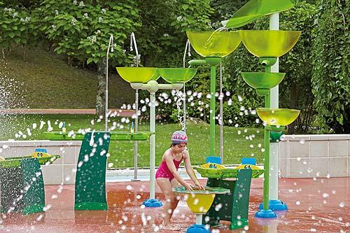 Parque de agua Splashpad