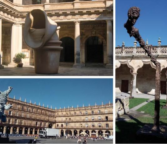 La obra de Miquel Barceló se deja ver en Salamanca