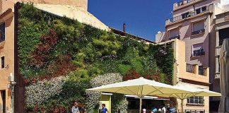 Jardín vertical en La Calahorra, Elche