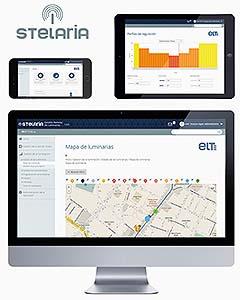 Sistema STELARIA. Aplicación de usuario de gestión web multi-dispositivo