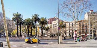 Plaza de Tetuán de Barcelona