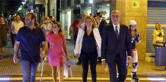 Paso de peatones inteligente con detección de viandantes y tecnología LED en Málaga