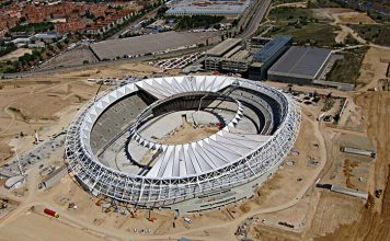 Pavimentos Quadro en el nuevo Estadio de Fútbol Wanda Metropolitano del Club Atlético de Madrid