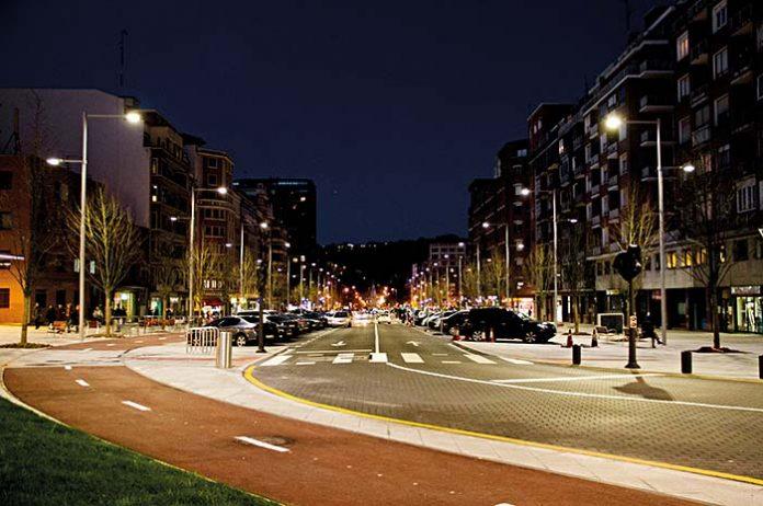 Proyecto de iluminación: Avenida Sabino Arana. Bilbao