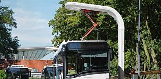 red de carga inteligente para un transporte público sostenible