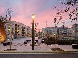 Plaza de las Casernes en Vilanova i la Geltrú