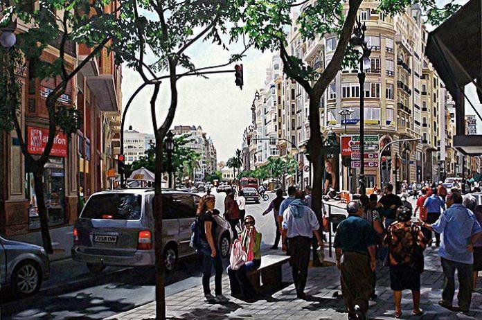 Francesc Marco y sus paisajes urbanos
