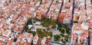 Plaza Castelar en Elda, Alicante