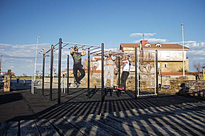 Street Workout de Manufacturas Deportivas