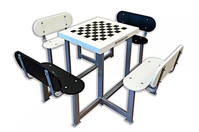 Mesa de ajedrez de Deportes Urbanos de Exterior