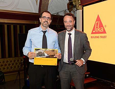 Entrega de premios de la XII edición del concurso La Mejor Obra Sika