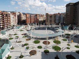 Plaza de Indautxu en Bilbao