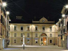 Piazza Santa Maria dei Battuti en Treviso