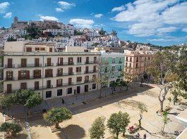 Paseo Vara de Rey y su entorno en Ibiza