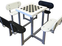 Mesas de ajedrez